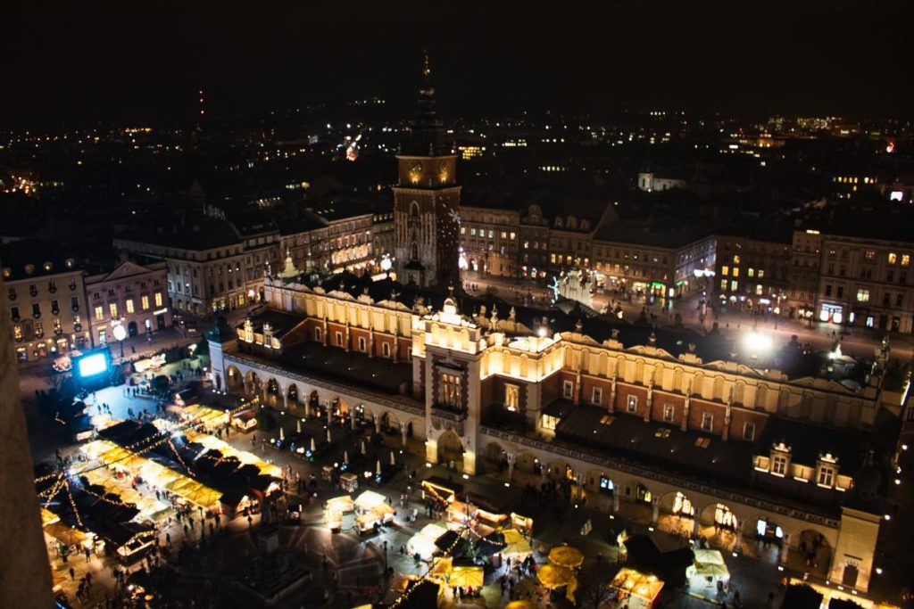 attractions in krakow market square