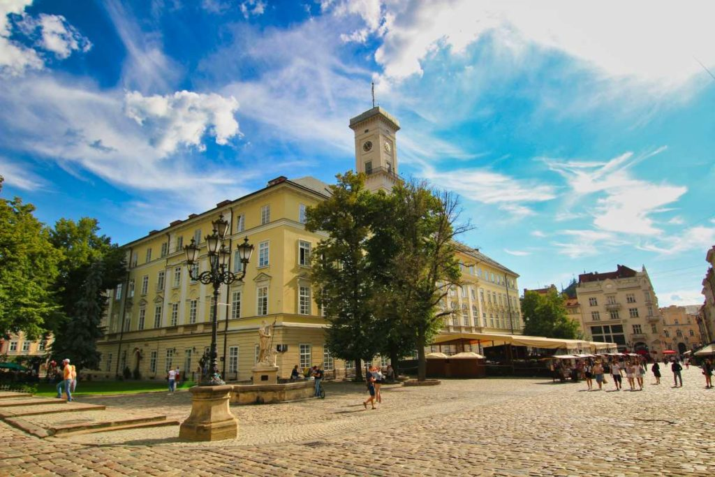 Lviv Ukraine Town Hall