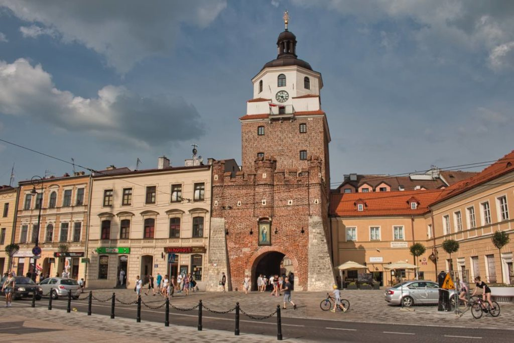 Lublin Poland Sights Cracow Gate