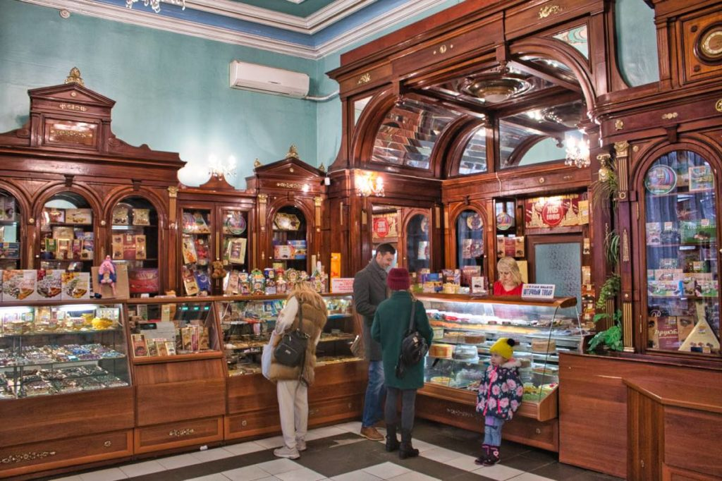 things to do in Kharkiv candy store Vedemedyk