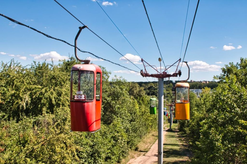 things to do in Kharkiv cable car