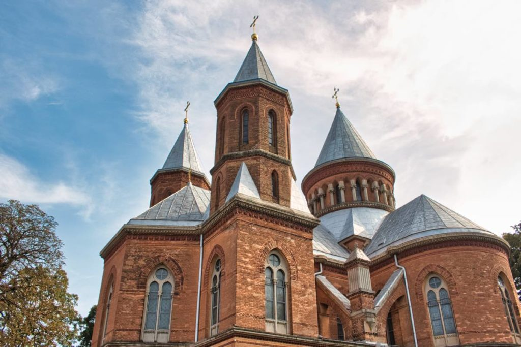 Chernivtsi sights Armenian Church