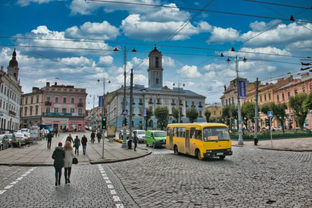 Chernivtsi sights central square