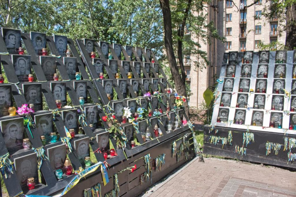 Heavenly Hundred -Memorial for the Maidan protest victims