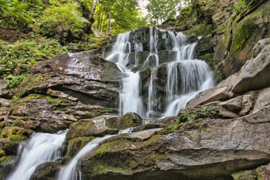 things to see in Transcarpathia Shypit Waterfall
