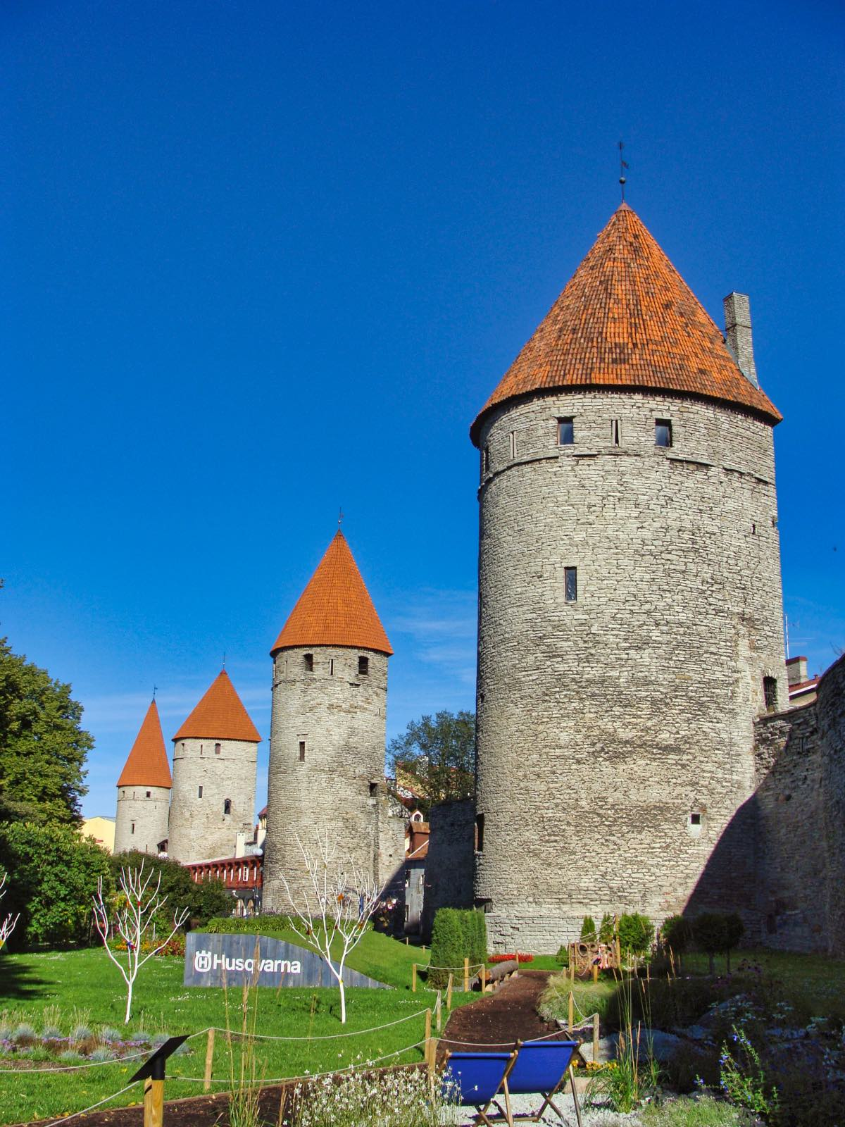 Tallinn Sights Square of Towers