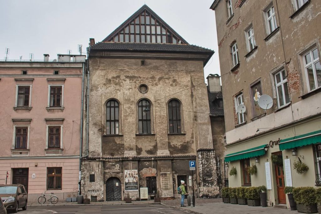 High Synagogue Jewish quarter in krakow